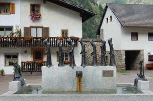 La fontana dei monaci