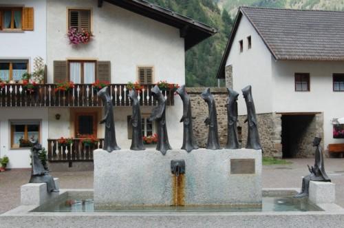Senales - La fontana dei monaci