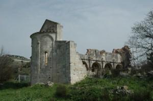 Chiesa di S.Nicola di Silanis (ruderi)