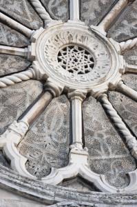 cattedrale di Ruvo di Puglia - Particolari Rosone