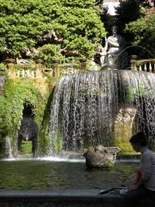 Villa d'Este: Fontana dell'Ovato