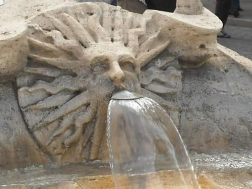 Roma - Sole della Barcaccia