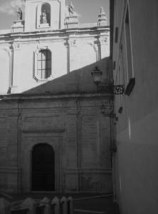 Chiesa Monumentale del Ritiro (B/N)