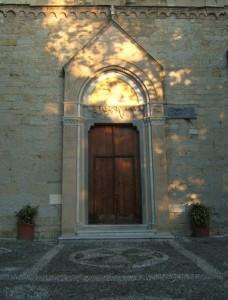 Il portale di San Giovanni Battista di Quarto
