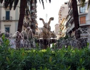 fontana di piazza immacolata