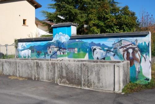 Santa Giustina - ricordo del passato a Cassol