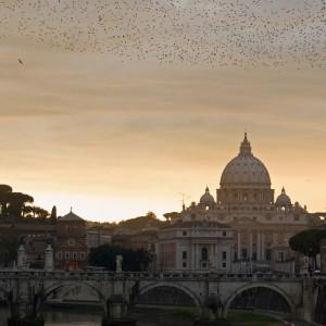 Il cielo sopra San Pietro