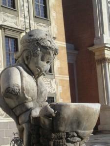 Fontana in Piazza dei Cavalieri