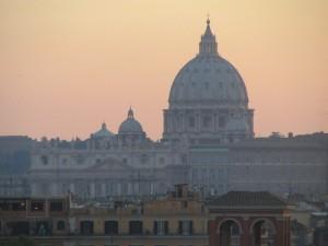 San Pietro al crepuscolo