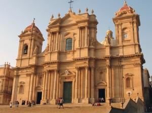 La Cattedrale di Noto con il suo fascino barocco.