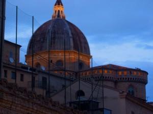 Basilica al calar della sera