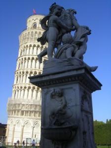Fontana dei Putti in Piazza dei Miracoli