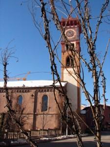 campanile chiesa cavalese