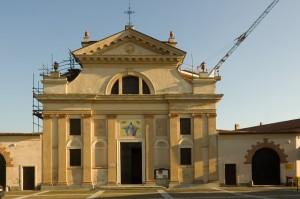 Restauro in corso - Lombardore - Parrocchiale di Sant'Agapito