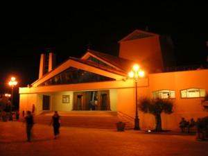 Santa Maria Assunta, terrazza di Sperlonga.