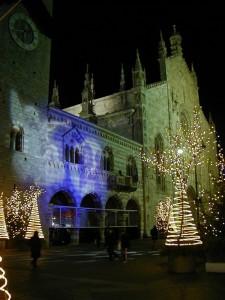 Il Natale in piazza del duomo