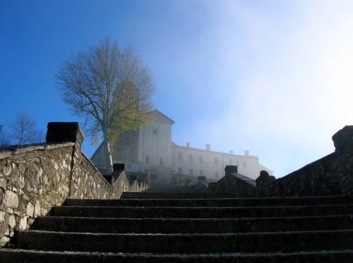 Feltre - Nebbia autunnale a S. Vittore