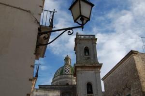 Particolare della cupola e del campanile della Basilica Cattedrale