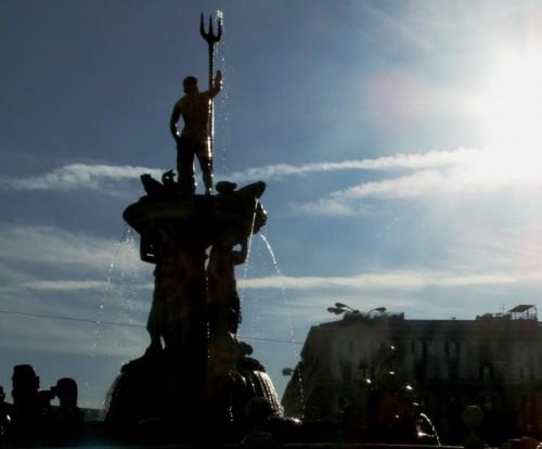 Napoli - Nettuno e il sole