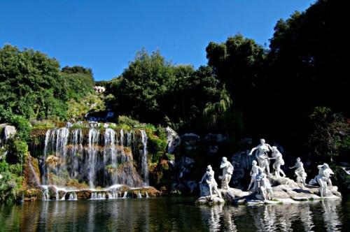 Caserta - La piu' bella fontana della reggia di Caserta