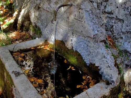 Roccamorice - Fontana Autunnale Eremo Santo Spirito