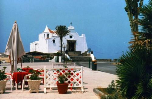 Forio - La chiesa del Soccorso nella luce del pomeriggio