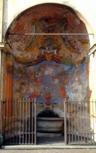 Fontana in Piazza del Santuario a Tirano