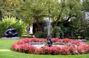 Fontana del Giardino di Palazzo Sertoli a Sondrio