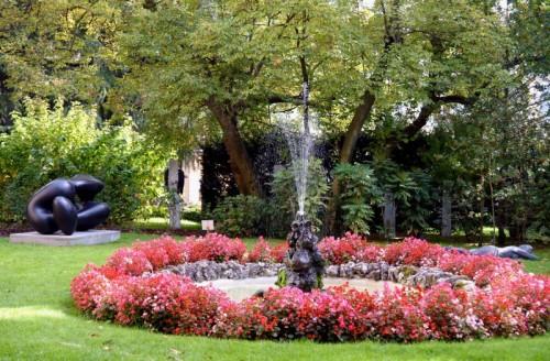Sondrio - Fontana del Giardino di Palazzo Sertoli a Sondrio