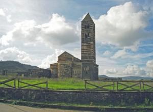 Basilica della Santissima Trinità di Saccargia: The back side