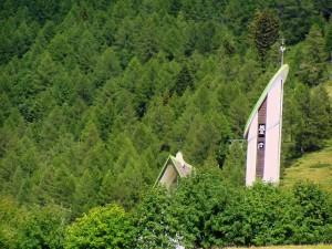 Chiesetta degli alpini a Pian delle Betulle