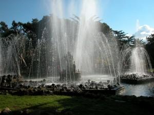Palermo - Una delle fontane del Giardino Inglese