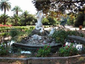 Palermo - Villa Trabia - Fontana del Glauco