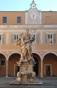 A bocca asciutta:  Palazzo Arcivescovile - Mosè