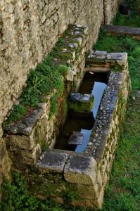 Fontana nell'Abbazia di Casamari