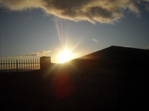 Aspettando il sole sulla Basilica superiore