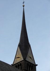 Geometrie di un campanile…