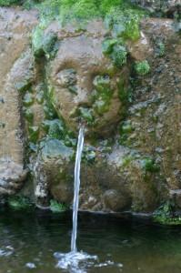 Fontanina nel Santuario della Madonna dei Lattari