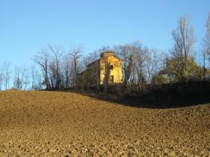 la chiesa in collina