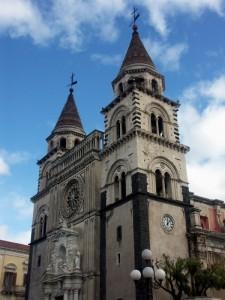 Acireale - Facciata della Cattedrale