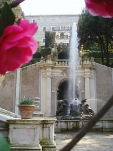 I fiori e la fontana, Villa d'Este