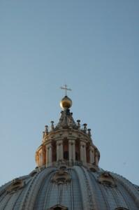 Particolare della cupola di San Pietro