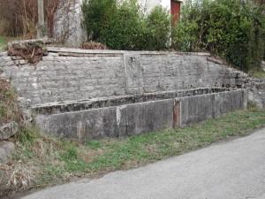 fontana abbandonata a Tussui