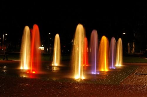 Alessandria - Getti di luce