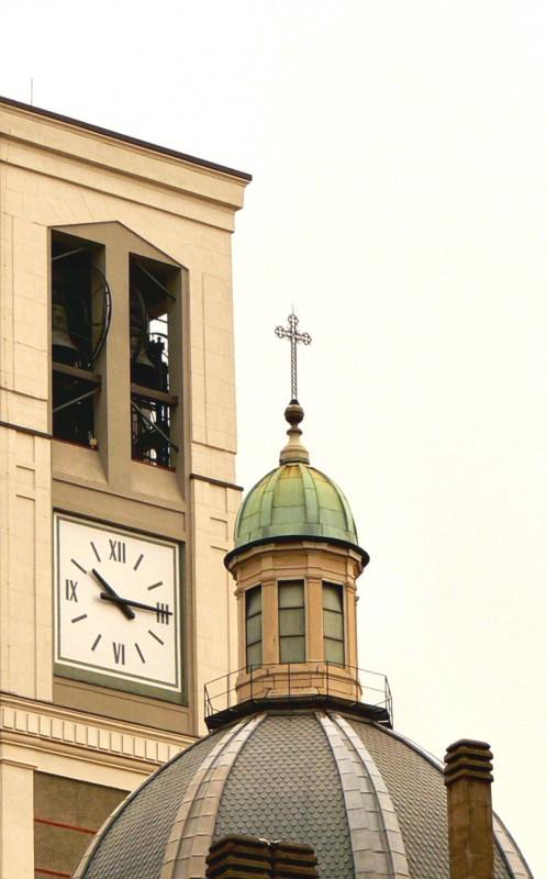 ''campanile e cupola della Basilica di S.to stefano'' - Sesto San Giovanni