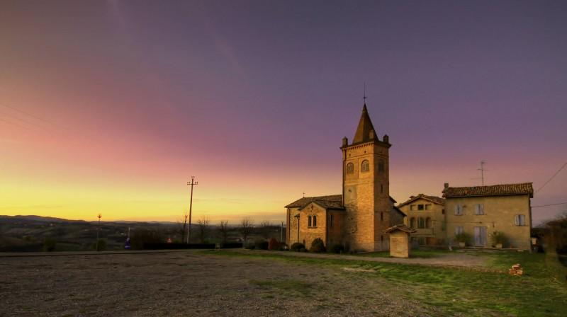 ''Chiesa di Villabianca - Tramonto'' - Marano sul Panaro