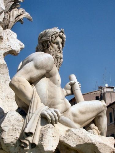Roma - Fontana dei quattro fiumi