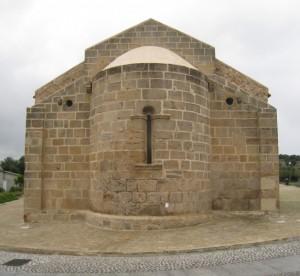 Chiesa antica di S. Giovanni Battista (XI sec): the back side