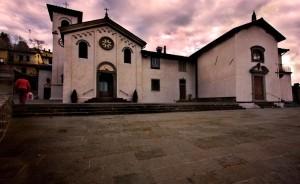 Pioggia su Tosi (chiesa di s. Andrea)