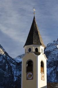 Campanile della Chiesa di Cima Sappada